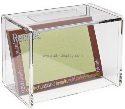 Customize clear acrylic container DBS-1112