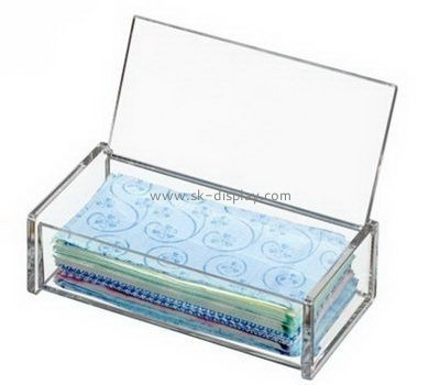 Customize clear acrylic box with lid DBS-1119