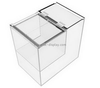 Customize clear acrylic storage containers DBS-1117