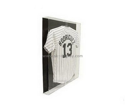 Customize acrylic t shirt frame display case DBS-1131