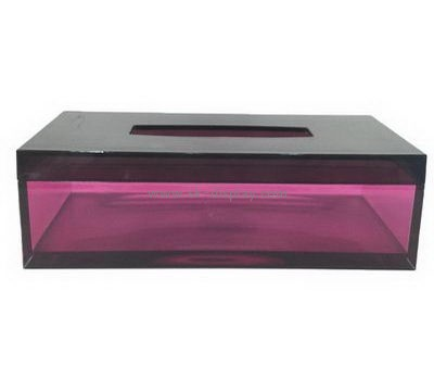 Customize acrylic facial tissue box cover DBS-1136