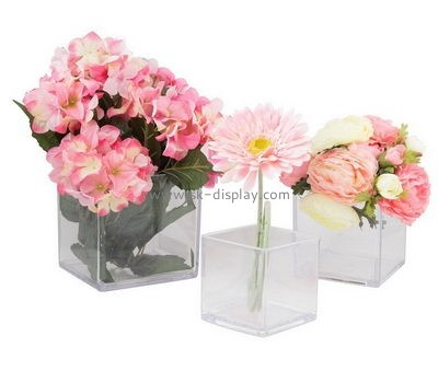Customize acrylic personalised flower box DBS-1142
