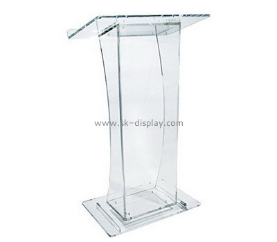 Customize acrylic lectern for sale AFS-364