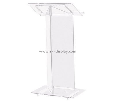 Customize acrylic podium AFS-372