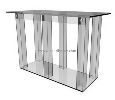 Customize acrylic cheap lectern AFS-385