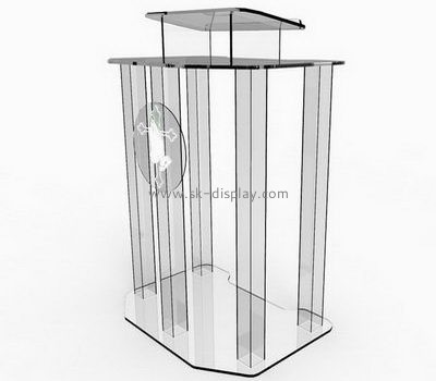 Customize acrylic lectern church AFS-387