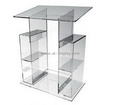 Customize acrylic floor lectern AFS-388