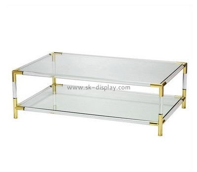 Customize lucite coffee table AFS-399