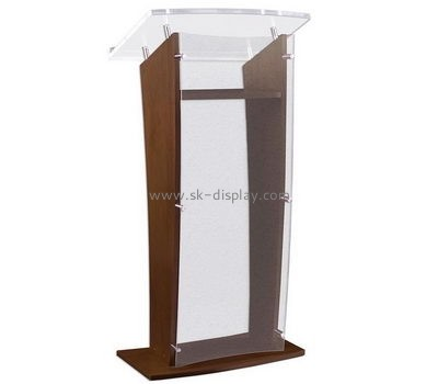 Customize acrylic cheap podiums for sale AFS-401