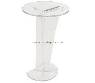 Customize lucite cheap lectern AFS-406