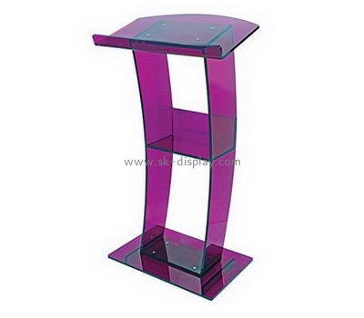 Customize lucite cheap lecterns for sale AFS-407