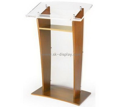 Customize acrylic standing lectern AFS-408