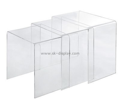 Customize lucite modern side table AFS-415