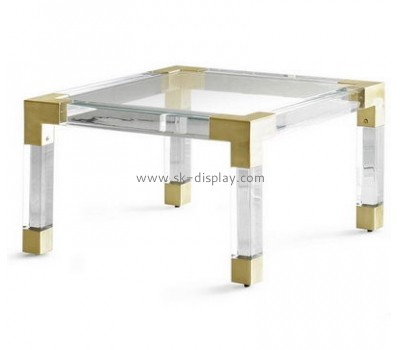 Customize lucite square coffee table AFS-420