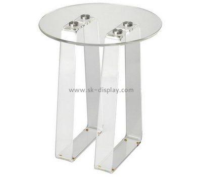 Customize lucite small round coffee table AFS-427