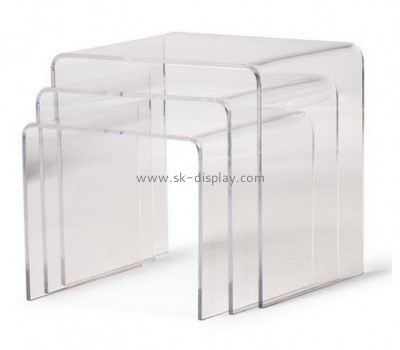 Customize acrylic coffee and end table sets for sale AFS-437