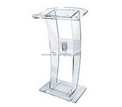Customize acrylic computer lectern AFS-447