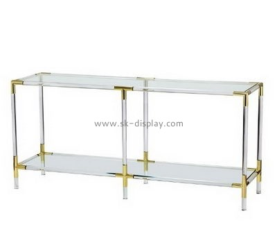 Customize acrylic narrow side tables for living room AFS-450
