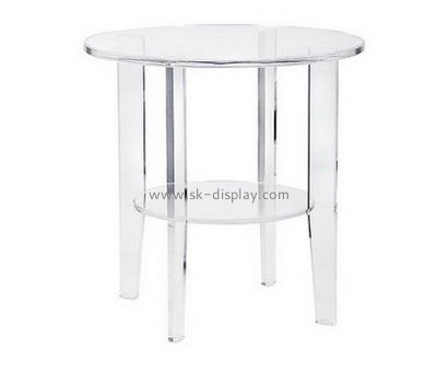 Customize plexiglass round coffee table AFS-465