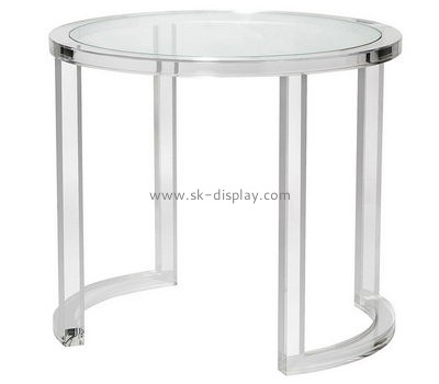 Customize acrylic round coffee table living room AFS-467