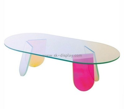 Lucite low modern coffee table AFS-477