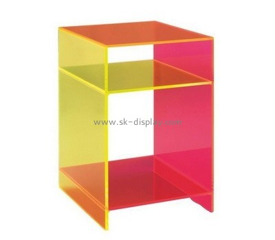 Lucite modern side tables for living room AFS-480