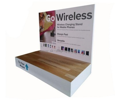 Customize acrylic retail display stands SOD-617