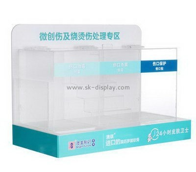 Two layers acrylic display stands SOD-690