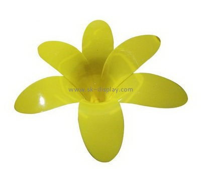 Yellow flower shape acrylic light cover SOD-700