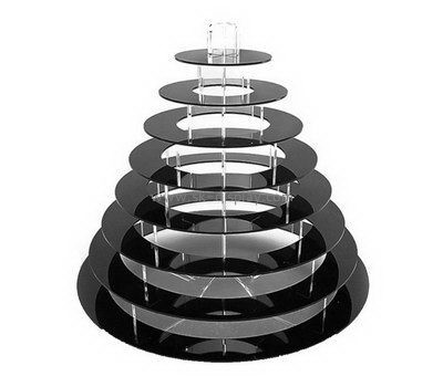 8 tiered round acrylic cupcake display stands FD-161