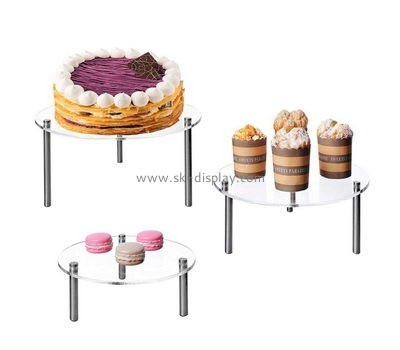 Acrylic cupcake and cake display stands FD-172
