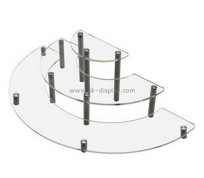 3 tiered clear acrylic cupcake display stands FD-170