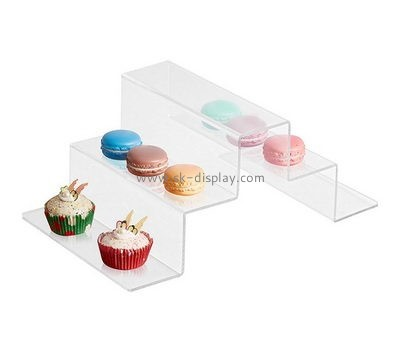 Tiered clear acrylic cupcake and macaron display stands FD-176