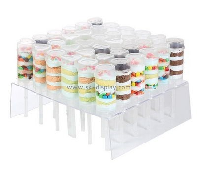Custom clear acrylic display holders FD-184