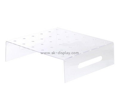 Custom clear acrylic lollipop display tray holders FD-192