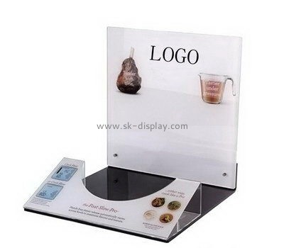 Customize acrylic food display stands FD-193