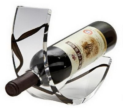 Wholesale acrylic wine bottle holder wine stand wine display WD-050