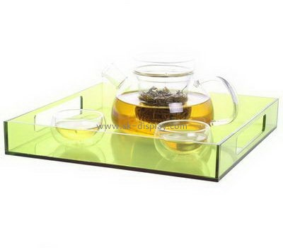 Customize acrylic tea serving tray FD-229