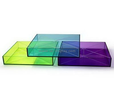 Customize square acrylic tray FD-247