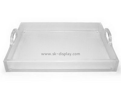 Customize acrylic tray with handles FD-244
