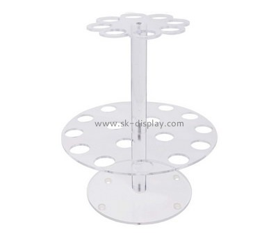 Customize 2 tiered acrylic ice-cream display stands FD-254