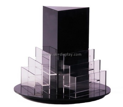 Customize 3 sided acrylic brochure holder BD-882