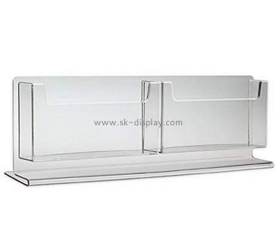 Custom acrylic brochure holder BD-883