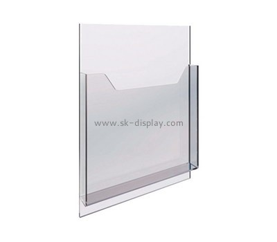 Custom acrylic brochure holder BD-895