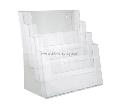 Custom wall acrylic literature holder BD-903