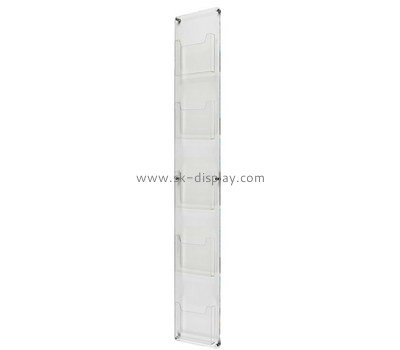 Custom wall acrylic literature holder BD-912