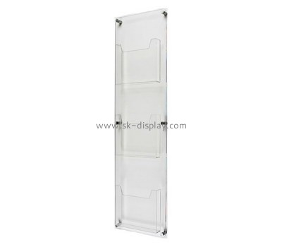 Custom hanging acrylic brochure holder BD-913
