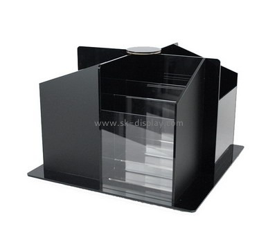 Custom 4 sided acrylic literature holder BD-918