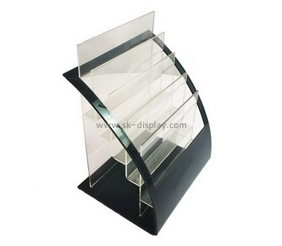 Custom 5 tiered acrylic literature display holder BD-920
