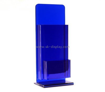 Custom table top acrylic pamphlet holders BD-938